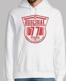 77 ans d39origine à la perfection