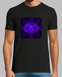 7ème chakra  tee shirt  mauve