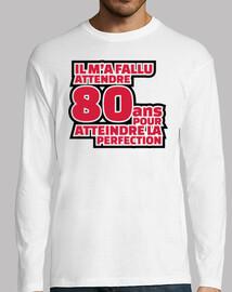 80 anni per raggiungere la perfezione
