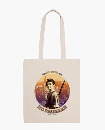 80 anys BCN ANTIFA v2020 - Bolsa, color natural