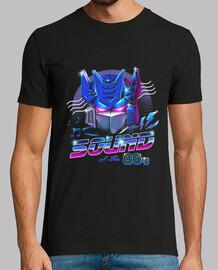 80s camiseta mens de sonido