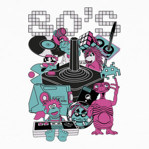 Camisetas 80's en CGA