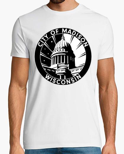 T-shirt 82 - madison, wisconsin