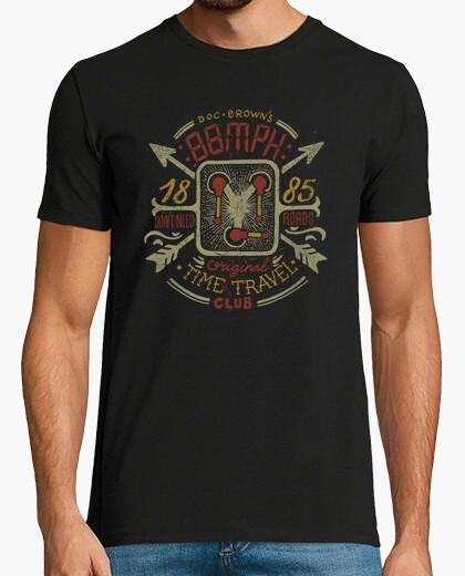 Camiseta 88MPH Time travel Club