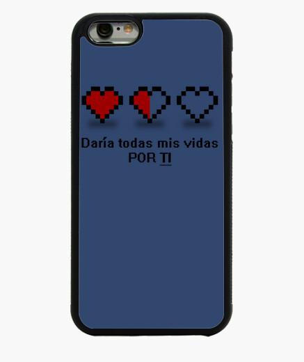 Cover iPhone 6 / 6S 8 bits - danno tutta la mia vita per te è