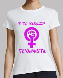 8 mars féministe