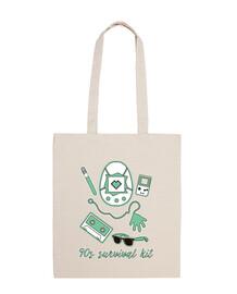 90s bag survival kit