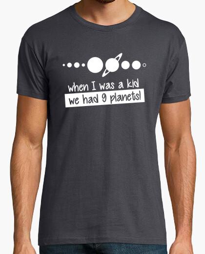 Camiseta 9 planetas