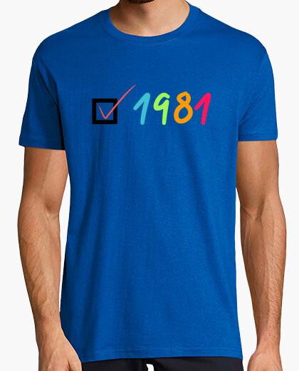 Tee-shirt 1981