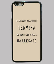 Inteligencia   Funda iPhone 6 Plus, negra