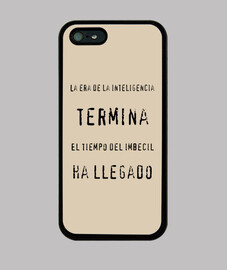 La inteligencia    Funda iPhone 5 / 5s, negra