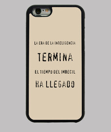 La inteligencia   Funda iPhone 6, negra