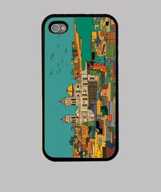 Cádiz Funda iPhone 4, negra