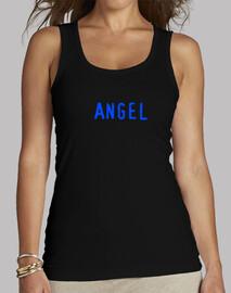 Camiseta tiranta Alas angel azúl