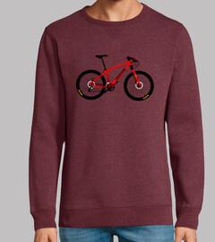 © cannondale hommage efedefunko réseau - homme, sweat-shirt, rouge