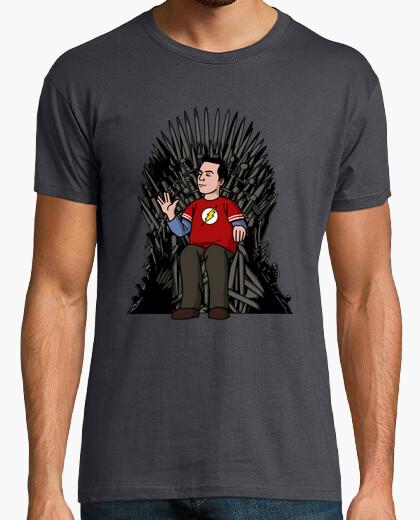 Camiseta  en el trono