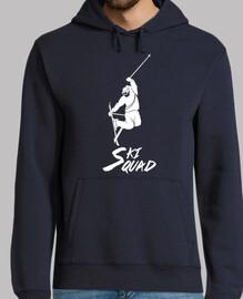 ❅ esquiar escuadra blanca