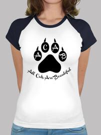 femme  (couleur sans manches) - all chats sont beautiful