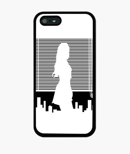 Coque iPhone  femme  et fenêtre - iphone 4/5