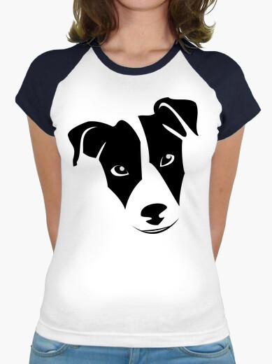 Tee-shirt  femme  jack russel