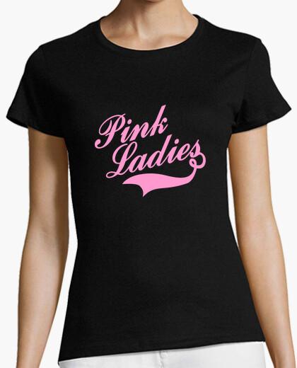 Tee-shirt  femme  pink ladies  tee shirt  hommage