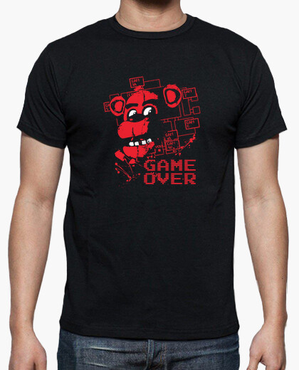 Tee-shirt  Five Nights At Freddys Game Over