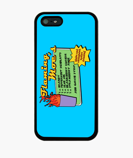 : flaming moes iphone cases