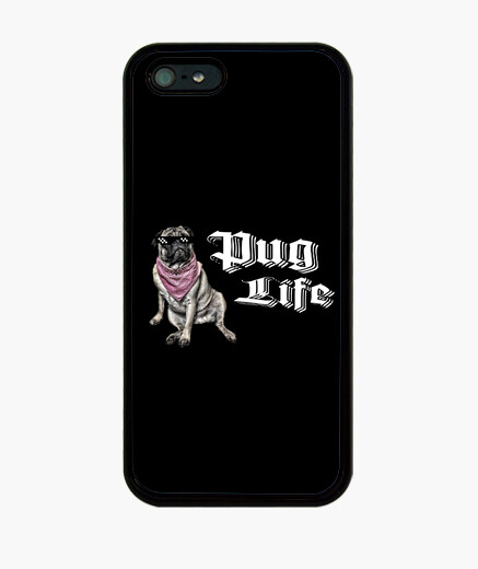 Funda iPhone Funda para movil iPhone 5 pug life