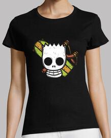 homme  pirate - shirt femme