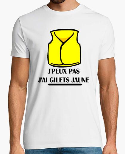 Tee-shirt  J'PEUX PAS J'AI  GILETS JAUNE