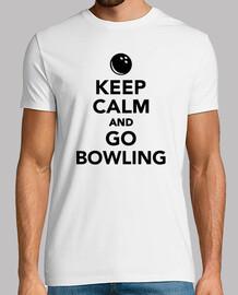 keep calm  et aller au bowling