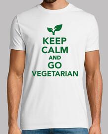 keep calm  et aller végétarien