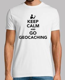 keep calm  et faire du géocaching