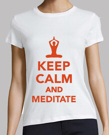 keep calm  et méditer