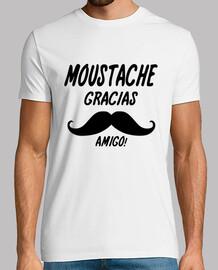 moustache gracias humour