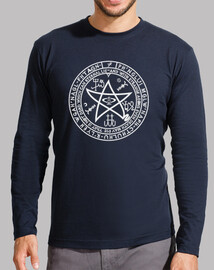 T-shirt  à manches longues pentacle cthulhu