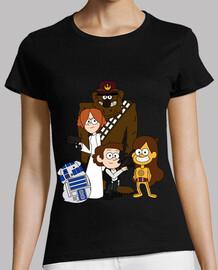 T-shirt  de  femme  - les guerres de gravité