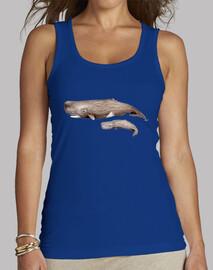 t-shirt  femme cachalote