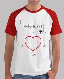 T-shirt  homme - l'amour mathématique