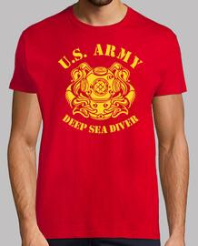 T-shirt  us navy plongeur mod.2 profonde