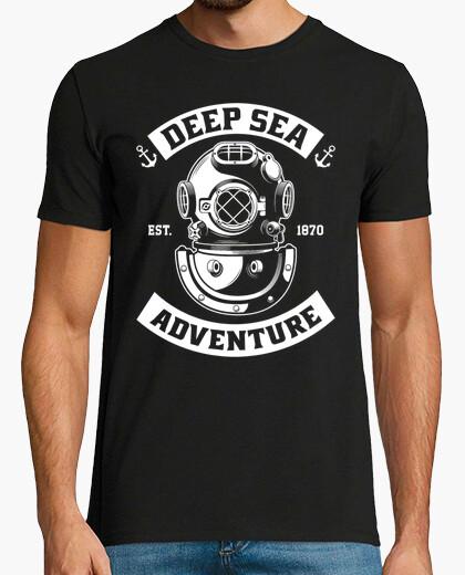 Tee-shirt  T-shirt  us navy plongeur mod.3 profonde