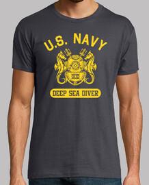 T-shirt  us navy plongeur mod.6 profonde