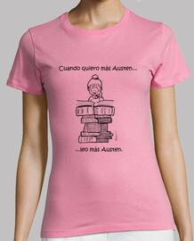 tee shirt  austen basic - t-shirt basique janeite