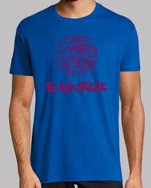 tee shirt  blaugrana -  homme  bleu