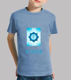 tee shirt  chackra des enfants vishuda