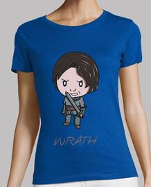tee shirt  colère femme
