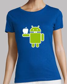 tee shirt  de  femme  miam!
