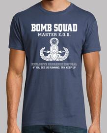 tee shirt  escouade antibombe maître eod mod.1