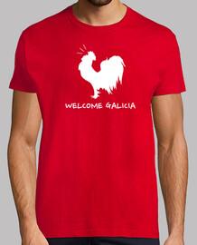 tee shirt  française galicia bienvenus