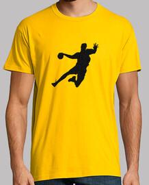 tee shirt  homme handball design 1